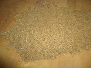 potato kugel and meatballs 059